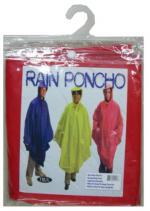 Дъждобран, пончо с качулка