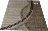Гладък килим в сивата гама