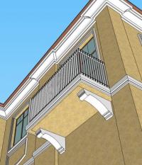 Декоративни подпори за тераси