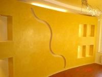 Преградни стени и рафтове от стиропор