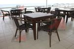 Удобни столове от бамбук