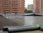 поставяне на хидроизолации на плоски покриви
