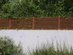 дървена ограда