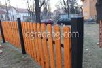 Изработка на дървени огради за обществени градинки по поръчка от качествен дървен материал