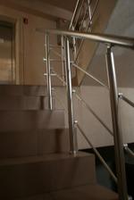 Изработка на алуминиеви парапети за стълбища по поръчка