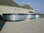 доставка на сглобяеми резервоари за съхранение на пречиствателни станции
