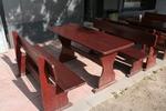 маси с 2 пейки от дърво за механи и кръчми