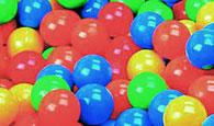 Цветни топки