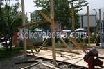 Градинска дървена беседка по поръчка