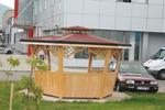 Изработка на дървени градински беседки по поръчка