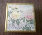 Авторска ръчно декорирана кутия Smart rose