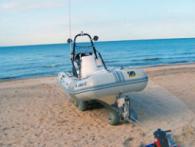 Лебедка за теглене на лодки