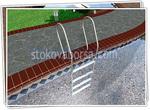изработка на стълби от инокс за басейн