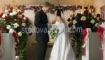 сватбена луксозна аранжировка с цветя