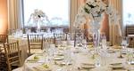 луксозна украса с цветя за сватба