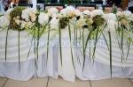 луксозна аранжировка с цветя за сватба