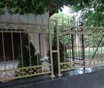 фирма за позлатена решетъчна ограда от ковано желязо
