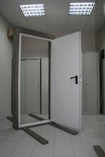 1140x2050mm ενός φύλλου της πόρτας φωτιά