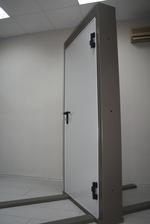 πυρίμαχο σιδερένια πόρτα 1140x2050mm