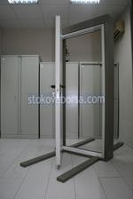 πυρίμαχο σιδερένια πόρτα 1100x2150mm