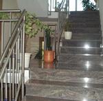 облицоване на стълбища с мрамор