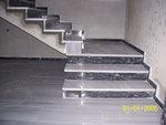 облицоване с мрамор на стълбище