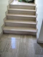 piastrelle di marmo scale