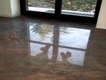 подови настилки - облицоване с мрамор