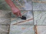 подово облицоване с мрамор