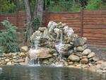 градински декоративен водопад