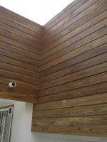 дървена фасадна облицовка