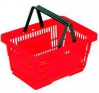 Пластмасова кошница с две дръжки