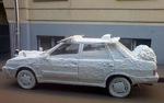 Auto polistirolo decorativo