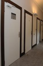 παραγωγή των αντι-φωτιά πόρτες με άνοιγμα φύλλου