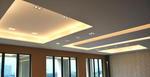 окачени тавани от гипсокартон с LED осветление
