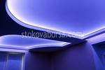 таван с лед осветление