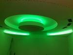 кръгъл окачен таван от гипсокартон