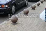 производство на антипаркинг топки от бетон по поръчка