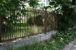метална решетъчна ограда от метален профил