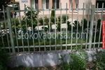 решетъчна ограда от метални профили