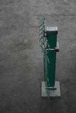 колове за огради с метални пана