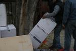 складиране на товари с охрана