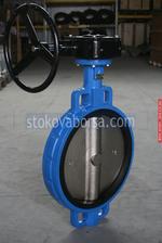 чогунен междуфланцов клапан за отпадъчна вода