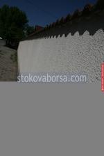 зидане огради с бетонови блокчета