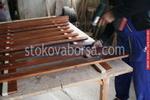изграждане на дървени огради с безцветено лакиране