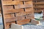 дървена ограда от дървено пано 200x90см.