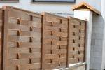 оградни пана от чам с размер 200x150см