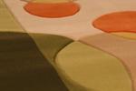Машинен килим Мода релефна структура