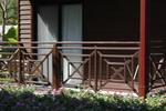изработка на терасни дървени парапети от бук